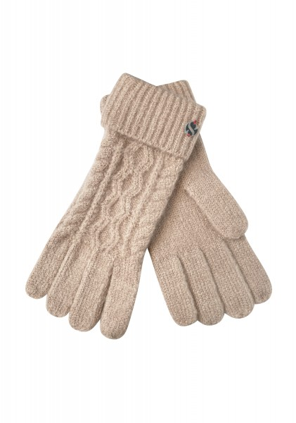 Strick-Handschuh Linna